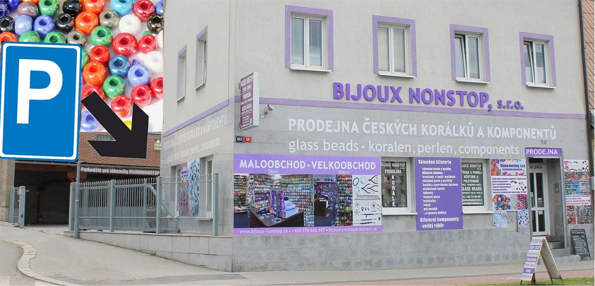 1500b56cbfd Bijoux nonstop – Korálky a bižuterie z Jablonce nad Nisou